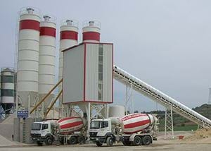 MB-135W Stationary Concrete Batching Plant
