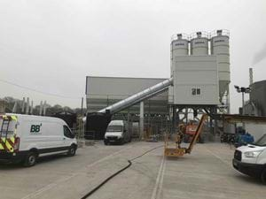 BRETT CONCRETE – MEKA MB-110K STATIONARY CONCRETE BATCH PLANT
