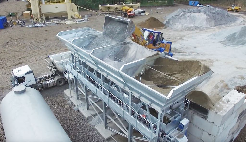 MB-C120 Compact Concrete Batching Plants