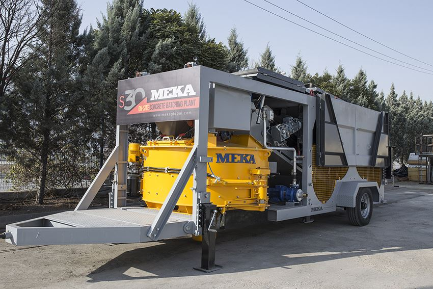 MB-S30 On-Site Type Concrete Batching Plant