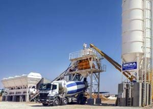 MB-C100 Compact Concrete Batching Plants