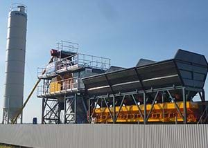 MB-C60 Compact Concrete Batching Plants