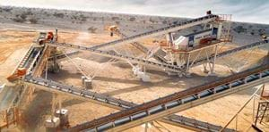 CRUSHING PLANT INSTALLED IN ALGERIA HAS BEEN WIDELY ADMIRED