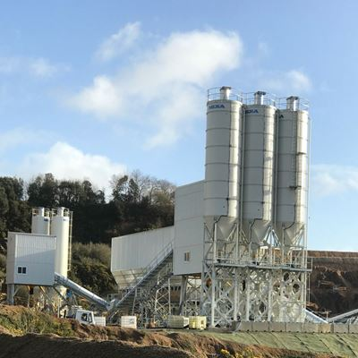 MEKA AND BERKSHIRE HAS DEVELOPED A SPECIAL CONCRETE PLANT FOR GRANITE PRODUCTS