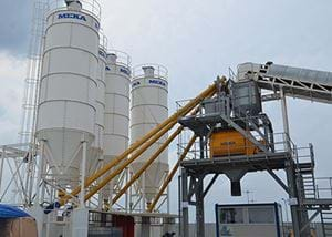 MB-K140 Stationary Concrete Batching Plants