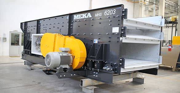MEKA Crushers, Vibrating Screens, Washers and Concrete Plants