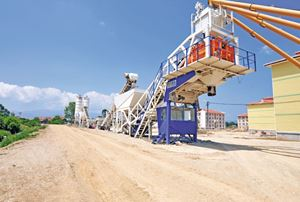 MB-100 M Mobile Concrete Batching Plants