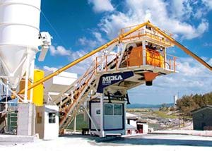 MB-60 M Mobile Concrete Batching Plants