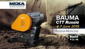 MEKA at BAUMA CTT RUSSIA
