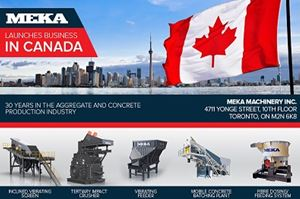 MEKA MACHINERY INC. IN CANADA