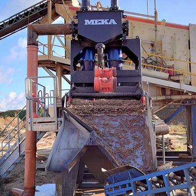 MEKA COMPACT SAND PLANT HAS BEEN INSTALLED IN POLAND