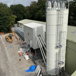 MEKA CONCRETE PLANT HAS BEEN PREFERRED FOR PRECAST MANUFACTURING IN ENGLAND