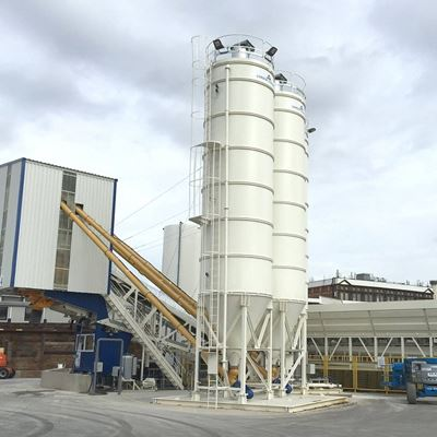 LONDON CONCRETE INVEST IN A MEKA MB-120BM MOBILE BATCHING PLANT