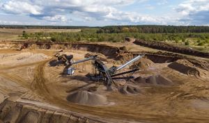 MEKA CRUSHING & SCREENING PLANT COMPLETED IN POLAND STARTED TO PRODUCE