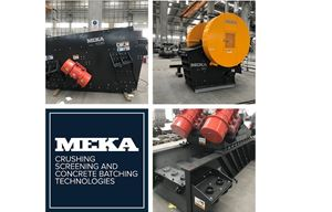 MEKA PAN FEEDER, JAW CRUSHER, AND SCALPER FOR OUR CUSTOMER IN SERBIA
