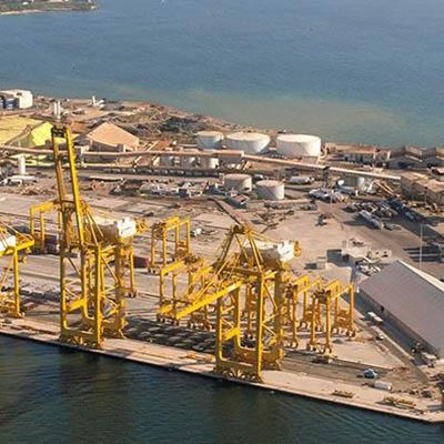 Port Of Bargny Sendou Is Being Expanded With Meka