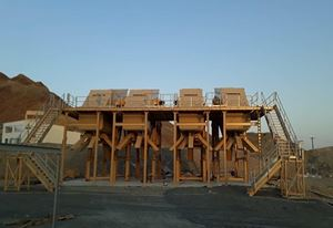 4 MEKA MS 2060/ 4 DECK HEAVY DUTY INCLINED SCREENS INSTALLED IN OMAN
