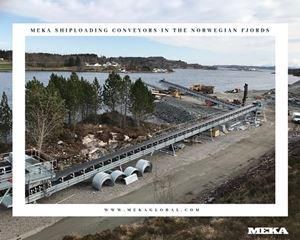 MEKA SHIPLOADING CONVEYORS IN THE NORWEGIAN FJORDS