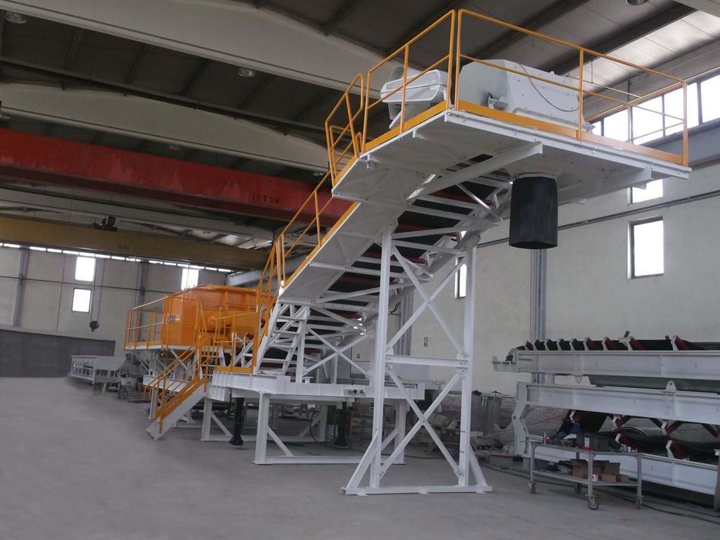Mobile Twin Shaft Mixers Meka Concrete Plants