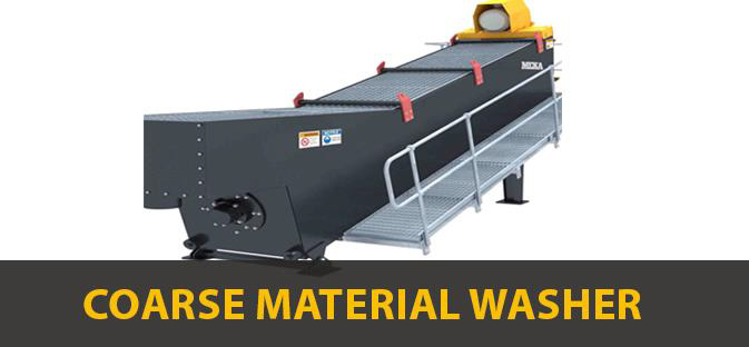 COARSE MATERIAL WASHER