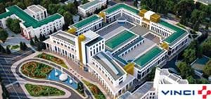 MEKA WORKS ON THE PRESTIGE PROJECT OF TURKMENISTAN
