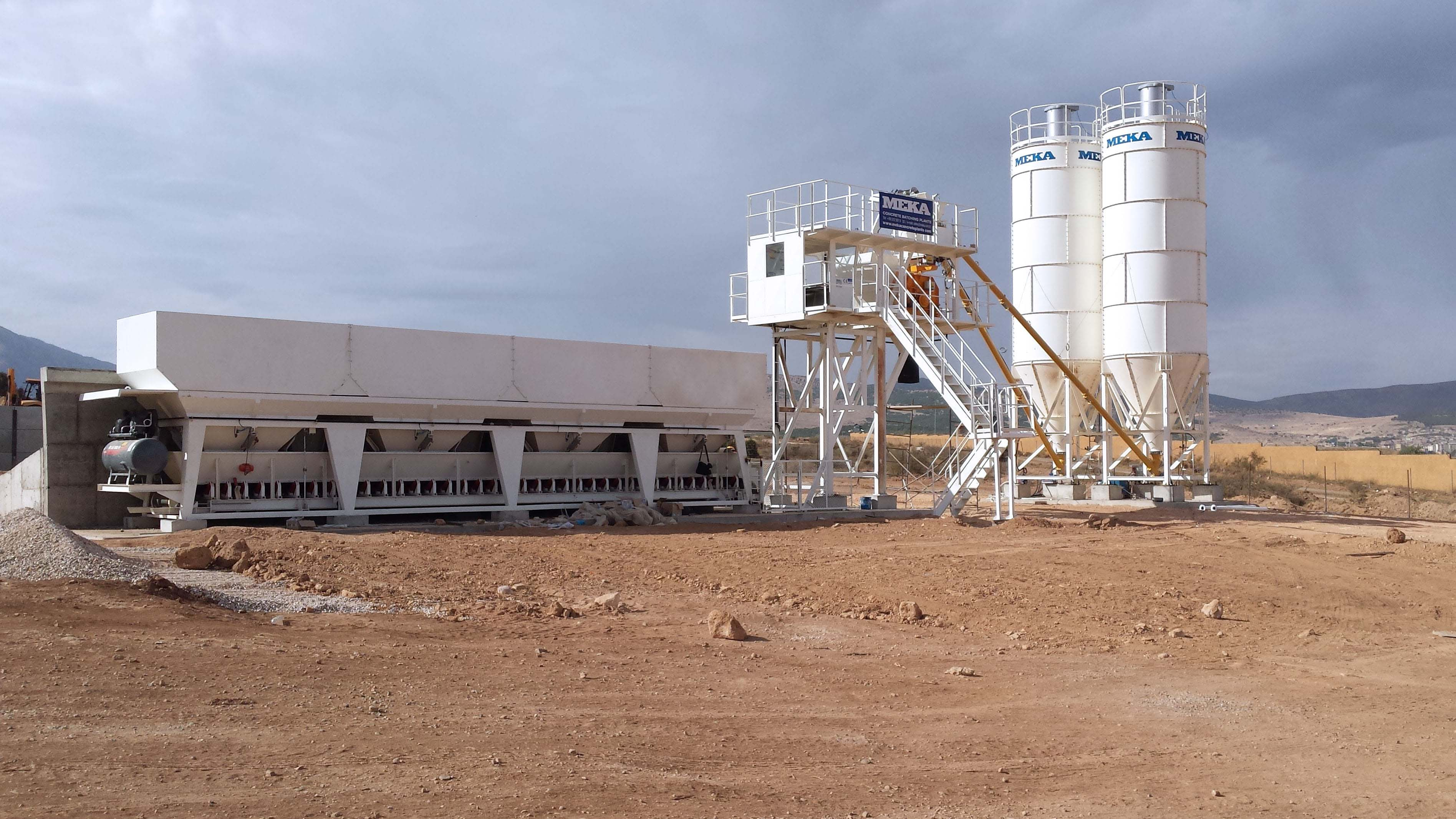 MB-30WS Stationary Concrete Batching Plant