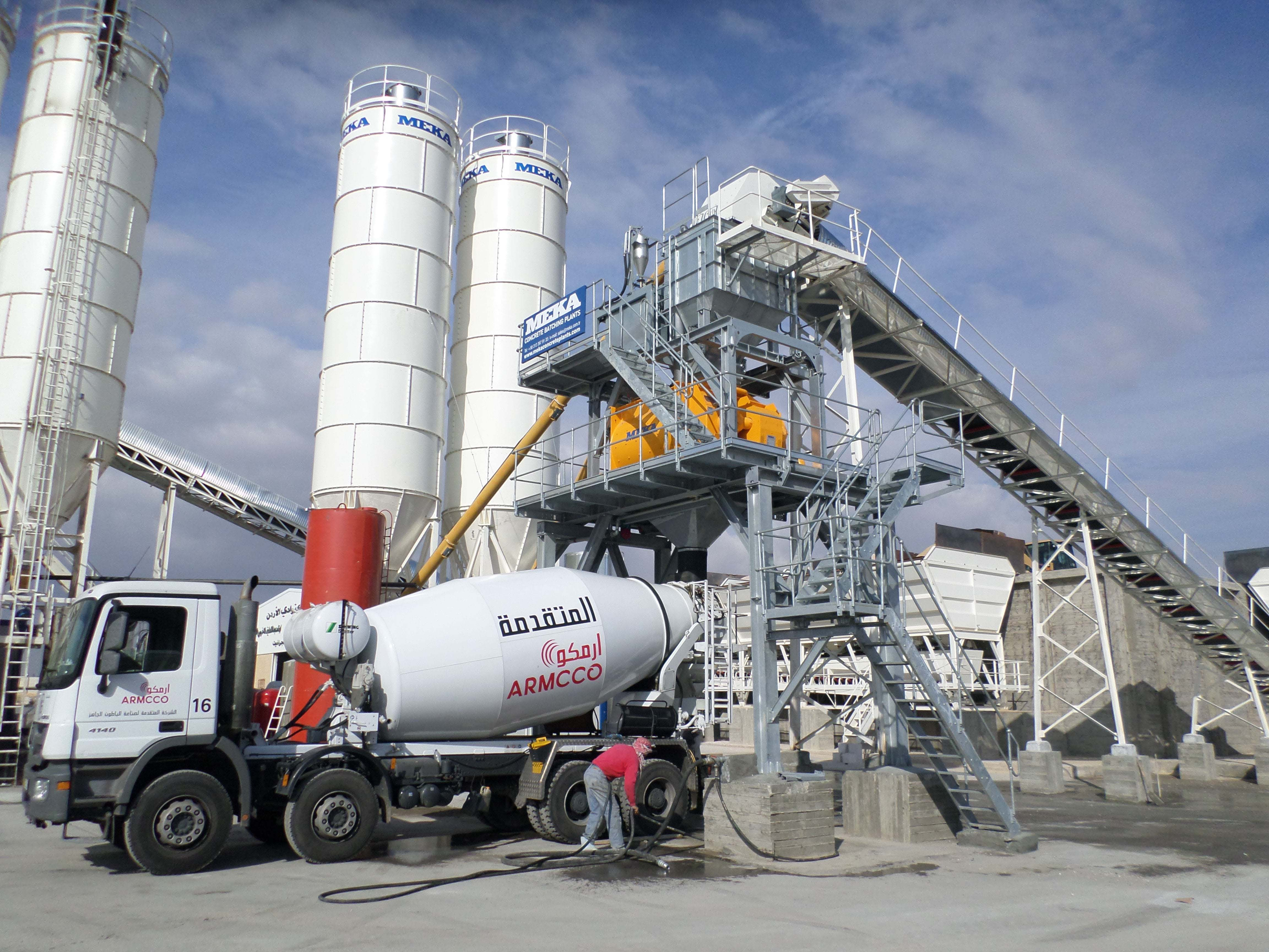 MB-K110 Stationary Concrete Batching Plant